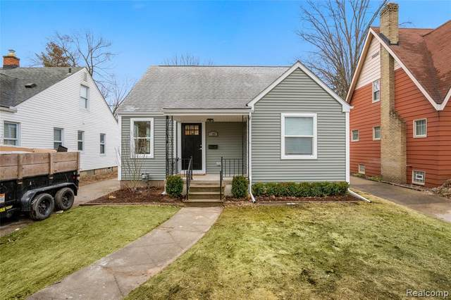 622 S Rembrandt Avenue, Royal Oak, MI 48067 (#2200015635) :: RE/MAX Nexus