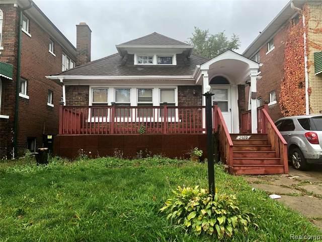 2979 Glendale Street, Detroit, MI 48238 (#2200015852) :: The Mulvihill Group