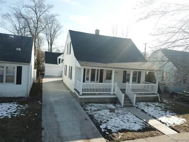 1308 E Hayes Avenue, Hazel Park, MI 48030 (#2200015883) :: The Alex Nugent Team | Real Estate One