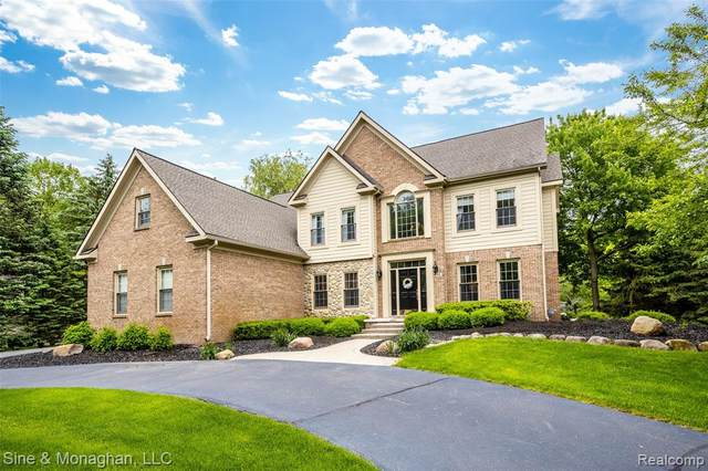 8706 Hunters Creek Drive, Independence Twp, MI 48348 (#2200016064) :: The Mulvihill Group