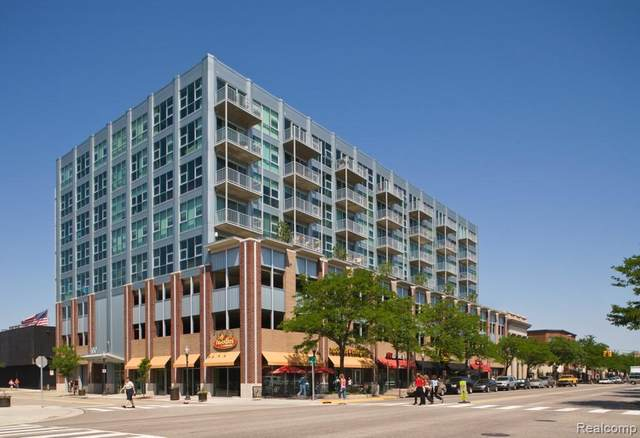 100 W 5TH ST UNIT 502, Royal Oak, MI 48067 (#2200016212) :: Alan Brown Group