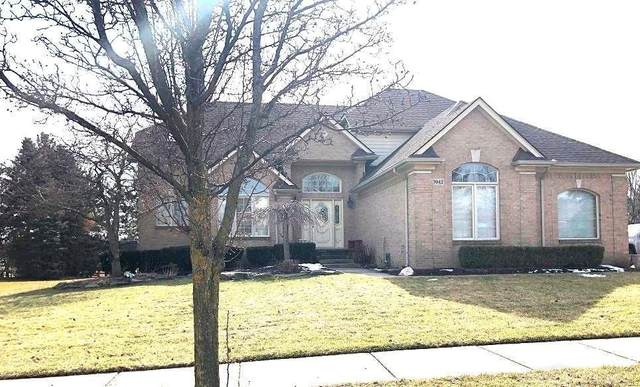 7042 Sparling Dr, Shelby Twp, MI 48316 (MLS #58050006810) :: The Toth Team