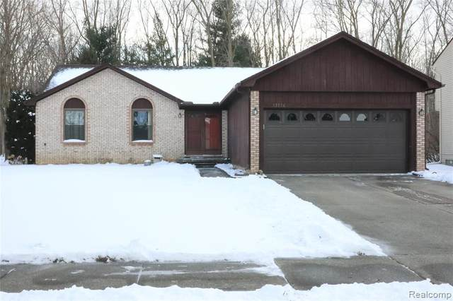 13174 Beresford Drive, Sterling Heights, MI 48313 (MLS #2200016282) :: The Toth Team