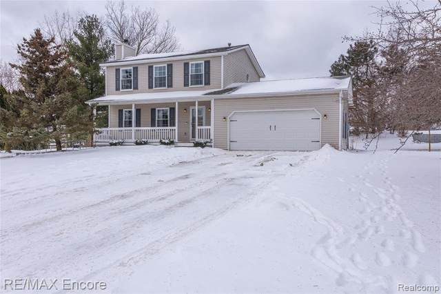 1166 Mill Valley Court, Oxford Twp, MI 48371 (MLS #2200016404) :: The Toth Team
