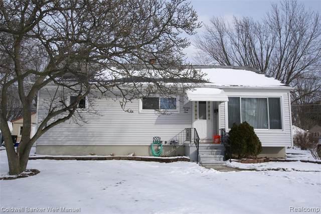 1449 Kingsley Street, Mt. Clemens, MI 48043 (#2200016486) :: Springview Realty