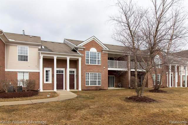 16781 Carriage Way, Northville Twp, MI 48168 (#2200017274) :: The Mulvihill Group