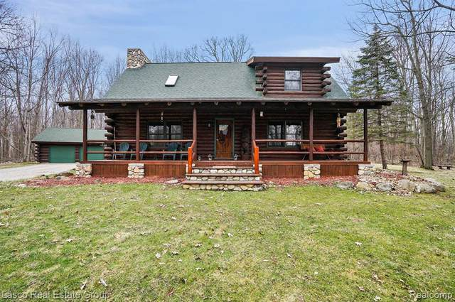 6245 Seymour Road, Gaines Twp, MI 48473 (#2200017431) :: The Merrie Johnson Team