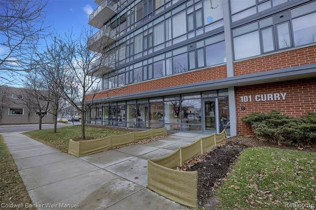 101 Curry Avenue #410, Royal Oak, MI 48067 (MLS #2200017835) :: The Toth Team