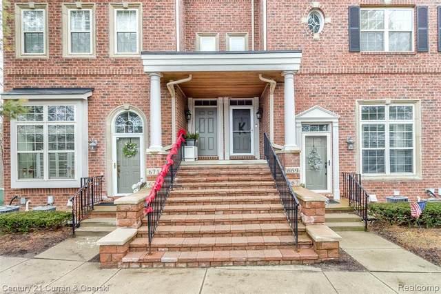 669 W River Park Village Boulevard, Northville, MI 48167 (#2200017919) :: GK Real Estate Team