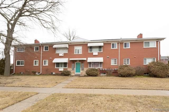 1809 Gardenia Avenue Apt 4, Royal Oak, MI 48067 (MLS #2200018342) :: The John Wentworth Group