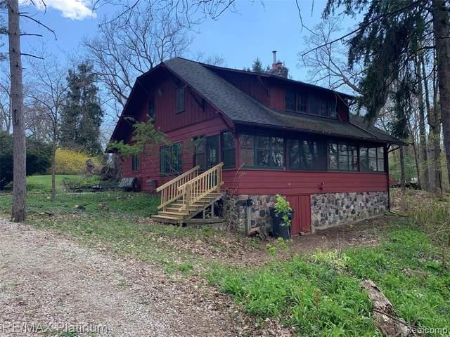 7125 Glencoe Drive, Dexter Twp, MI 48137 (#2200018483) :: The Buckley Jolley Real Estate Team