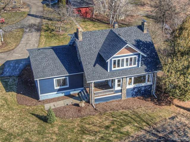2151 Orion Road, Oakland Twp, MI 48363 (MLS #2200019347) :: The Toth Team