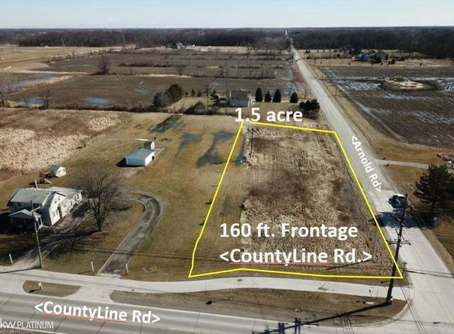 County Line & Arnold, Ira Twp, MI 48023 (#58050007694) :: Real Estate For A CAUSE