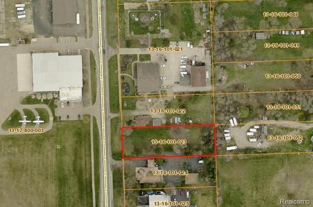 VAC Airport Road, Waterford Twp, MI 48329 (#2200019670) :: GK Real Estate Team