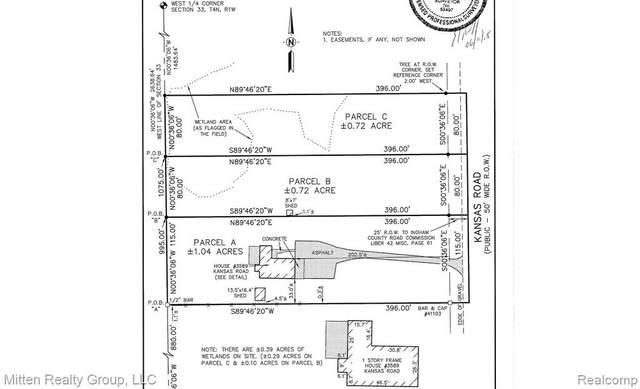 3589 Kansas Lot C Road, Meridian Twp, MI 48864 (MLS #2200019727) :: The Toth Team