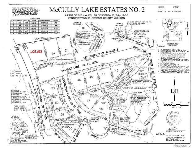 1400 Mccully Lane, Fenton Twp, MI 48430 (#2200020172) :: The Merrie Johnson Team