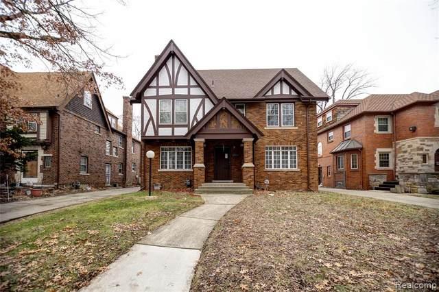 18935 Parkside Street, Detroit, MI 48221 (#2200020346) :: Springview Realty