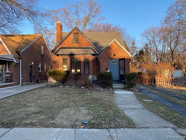 9754 Wayburn Street, Detroit, MI 48224 (#2200020627) :: The Mulvihill Group