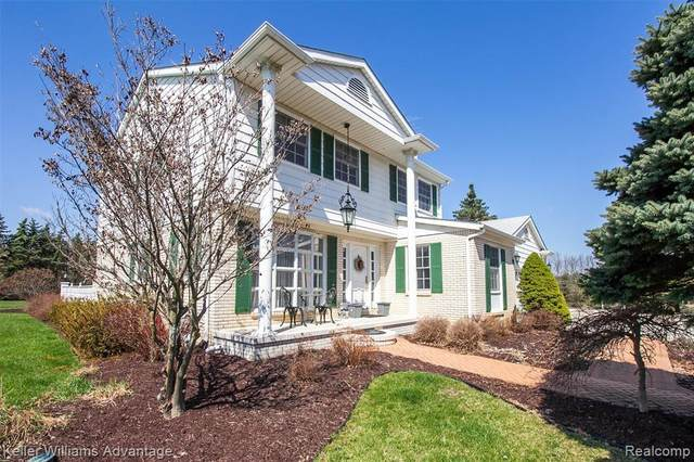 10230 Halsey Road, Grand Blanc Twp, MI 48439 (MLS #2200020944) :: The John Wentworth Group