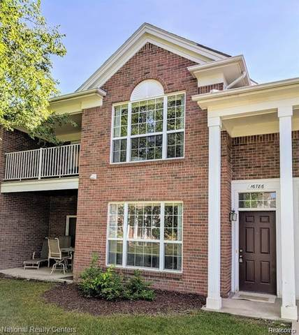 16785 Carriage Way, Northville Twp, MI 48168 (#2200021577) :: The Mulvihill Group