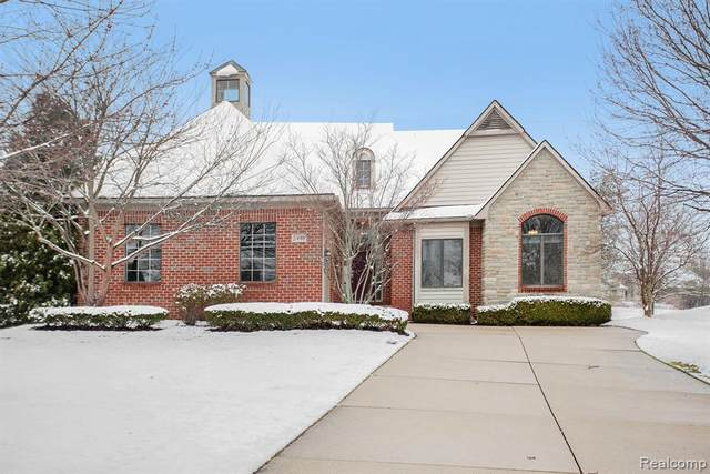 2495 Winged Foot Court, Pittsfield Twp, MI 48108 (#2200021601) :: Alan Brown Group