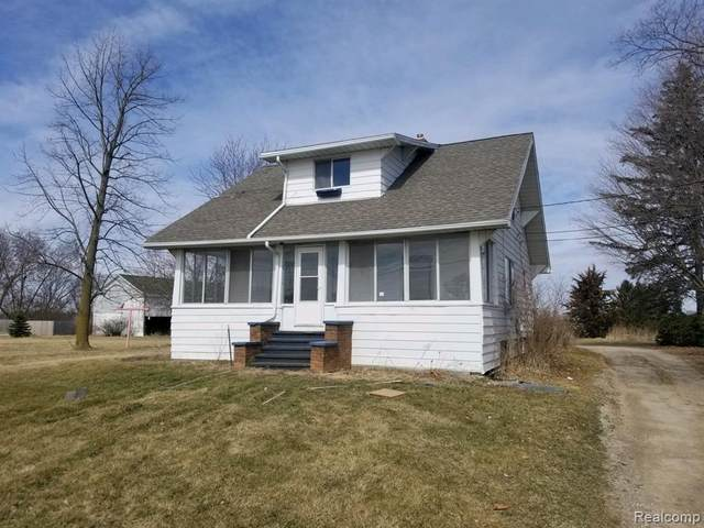 8444 Corunna Road, Clayton Twp, MI 48532 (#2200021860) :: The Merrie Johnson Team
