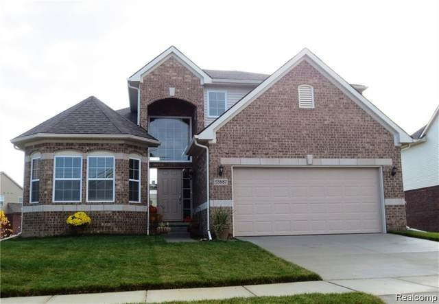 55864 Worlington Lane, Lyon Twp, MI 48178 (#2200022066) :: Team DeYonker