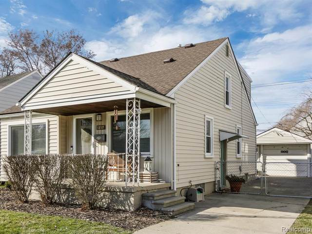 1817 E 4TH Street, Royal Oak, MI 48067 (#2200022212) :: RE/MAX Nexus