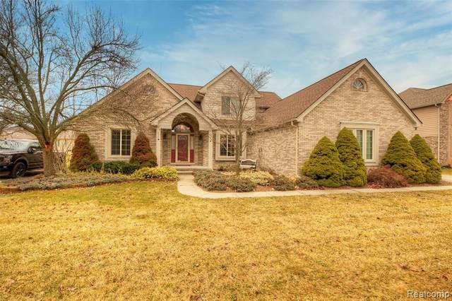 2828 Doncaster Drive, Canton Twp, MI 48188 (#2200022414) :: Springview Realty