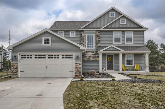 5038 Wyndemere Court, Mundy Twp, MI 48473 (#2200022566) :: The Merrie Johnson Team