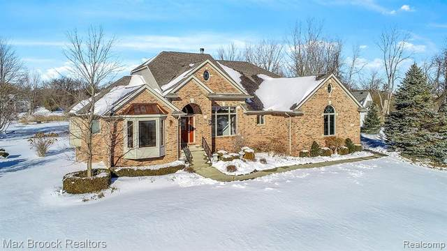 1664 Seymour Lake Road, Oxford Twp, MI 48371 (#2200022576) :: Springview Realty