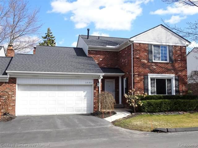 1535 Georgetown Drive E Apt 6, Bloomfield Twp, MI 48304 (#2200022618) :: RE/MAX Nexus