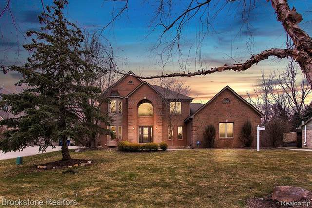 4614 Sawgrass Drive, Pittsfield Twp, MI 48108 (#2200022960) :: The Mulvihill Group