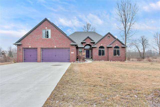 74252 Gould Road, Bruce Twp, MI 48065 (#2200023226) :: The Mulvihill Group