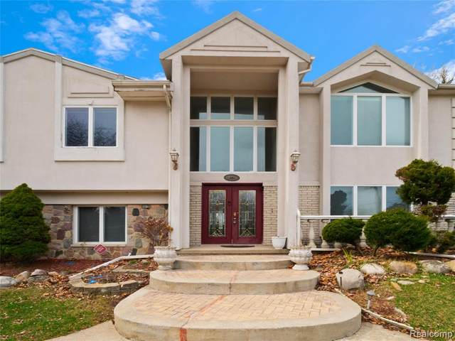 3845 Dalice Drive, West Bloomfield Twp, MI 48323 (#2200023483) :: The Alex Nugent Team   Real Estate One