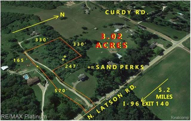 PAR B N Latson Road, Oceola Twp, MI 48855 (MLS #2200023634) :: The John Wentworth Group