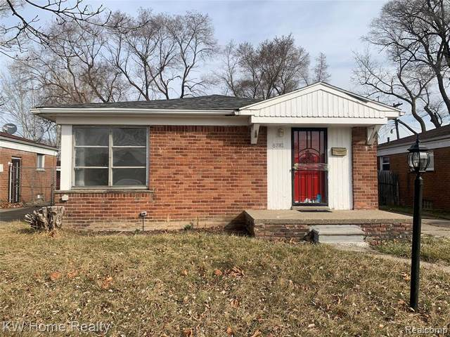 6781 Iowa Street, Detroit, MI 48212 (#2200023683) :: Keller Williams West Bloomfield