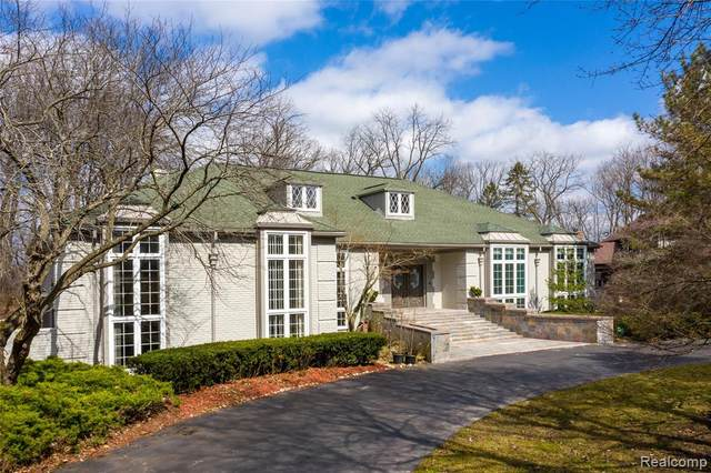 90 Manorwood Drive, Bloomfield Hills, MI 48304 (#2200023744) :: Keller Williams West Bloomfield