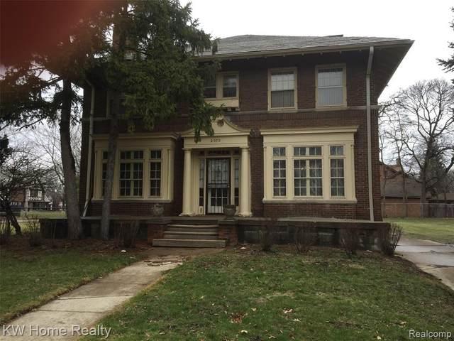 2070 Chicago Blvd, Detroit, MI 48206 (#2200023871) :: Keller Williams West Bloomfield