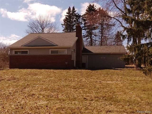 270 S Coats Road, Oxford Twp, MI 48371 (#2200023935) :: The Alex Nugent Team | Real Estate One