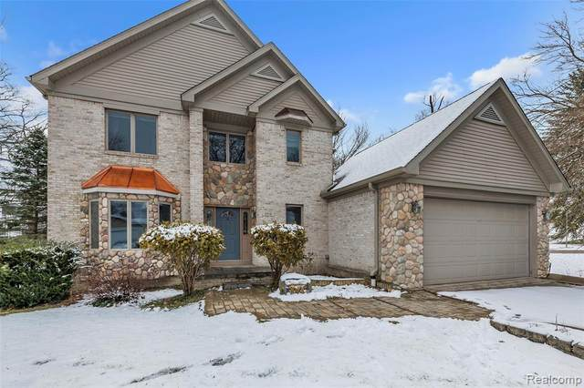 5716 Long Pointe Drive, Genoa Twp, MI 48843 (#2200023998) :: The Buckley Jolley Real Estate Team
