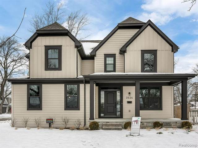 3524 Normandy Road, Royal Oak, MI 48073 (#2200024039) :: Keller Williams West Bloomfield