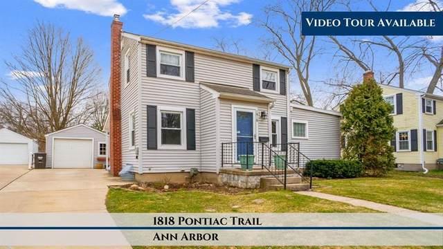1818 Pontiac Trail, Ann Arbor, MI 48105 (#543272153) :: Alan Brown Group