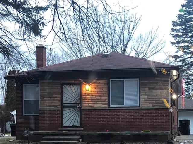 19309 Bentler Street, Detroit, MI 48219 (#2200024343) :: Springview Realty