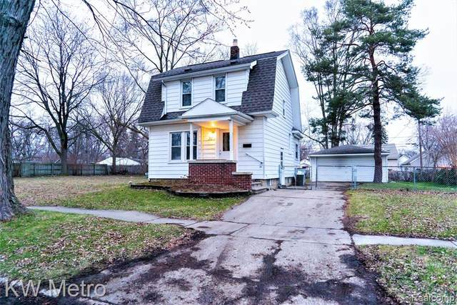320 W Hayes Avenue, Hazel Park, MI 48030 (#2200024353) :: The Buckley Jolley Real Estate Team