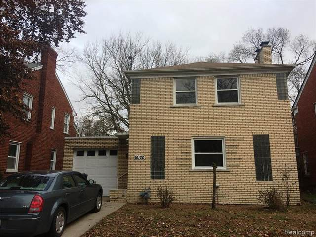 19160 Manor Street, Detroit, MI 48221 (#2200024376) :: Springview Realty