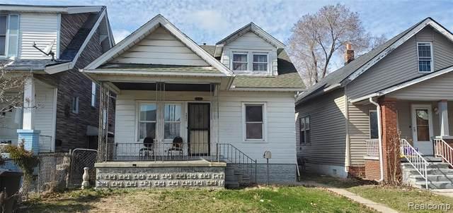 2945 Burnside Street, Detroit, MI 48212 (#2200024398) :: The Merrie Johnson Team