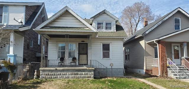 2945 Burnside Street, Detroit, MI 48212 (#2200024398) :: Springview Realty