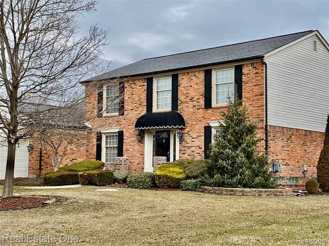 4574 Bentley Drive, Troy, MI 48098 (#2200024474) :: The Buckley Jolley Real Estate Team
