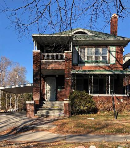 3334 Fullerton Street, Detroit, MI 48238 (#2200024550) :: Springview Realty